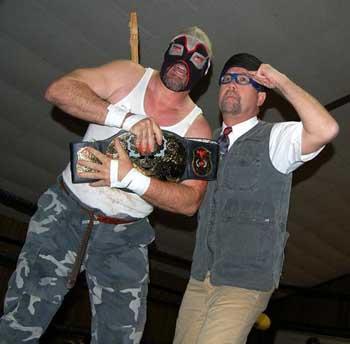 EWE Hardcore Champ & Professor Danger