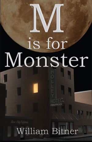 M is for Monster book cover, small