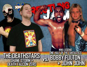 DFZ vs Bobby Fulton in Beckley, WV, Sept 15.