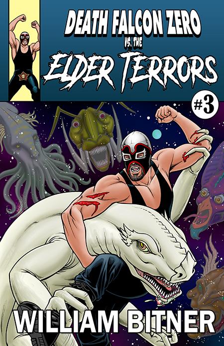 Death Falcon Zero Vs The Elder Terrors Cover